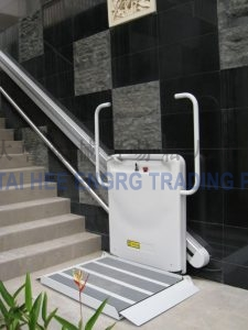wheelchair lift for commercial buildings