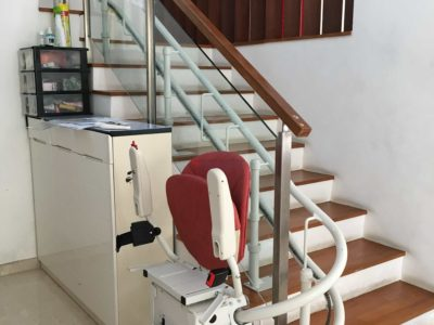 residential stair lift turned off