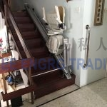 straight stair lift fold